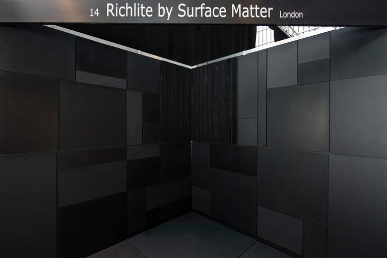 Richlite-by-surface-matter-uk-architect-at-work-tradeshow-stand