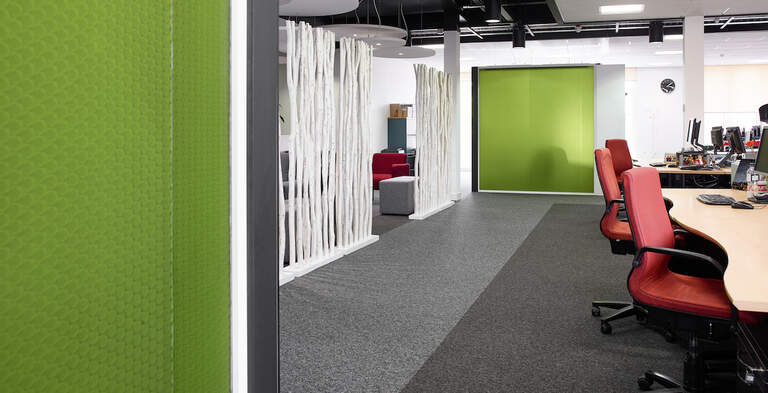 Bencore Starlight Partition Walls Translucent Walling Thistle